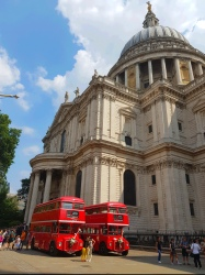 Selfies by Routemasters - St Paul's Cathedral