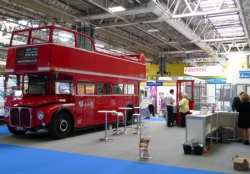 Attention grabber at trade show - National Exhibition Centre (NEC)