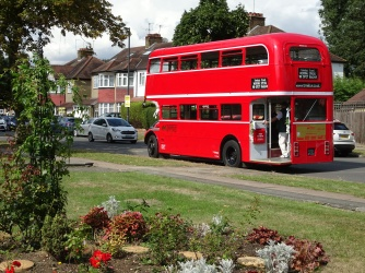 Featuring bus hire using: Open Platform Routemaster.