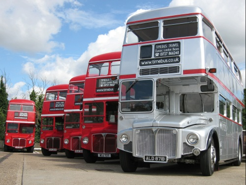 Five Routemasters