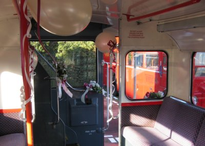 Routemaster open platform, with decorations