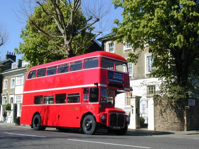 Open Platform Routemaster in summer sun