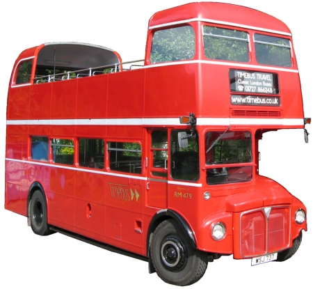 Open Topper with Doors; offside three quarter view