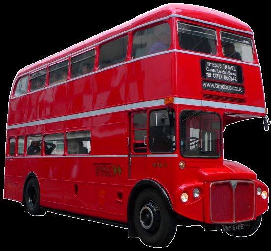 Routemaster Express; three quarter view